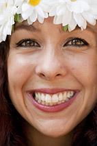 Glimlach overvloedig