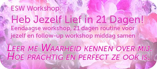 Heb jezelf lief in 21 dagen workshop