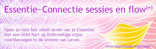 EssentieConnectie sessies en flow banner